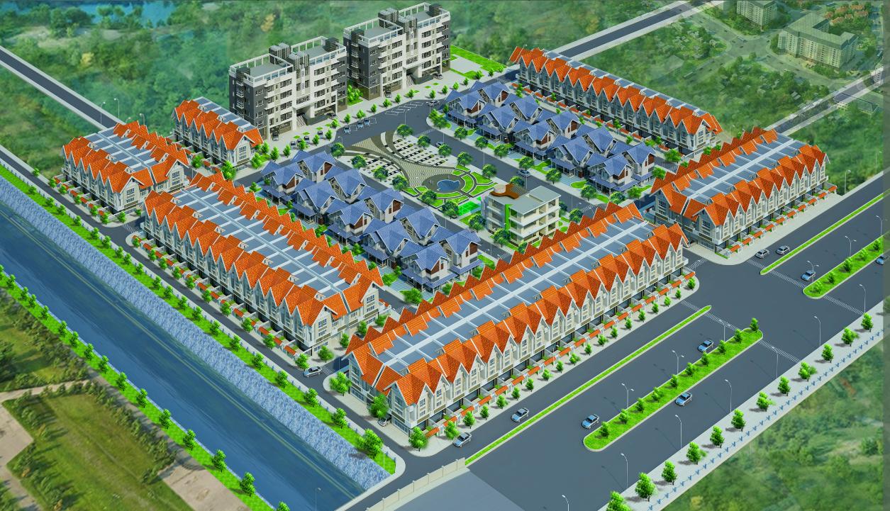 tổng quan dự án Phú Gia Hoàng Mai