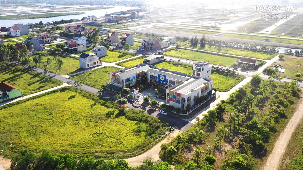 Hình ảnh thực tế khu đô thị Long Thành Hoàng Mai